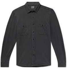 Faherty Seasons Slim-Fit Garment-Dyed Slub Cotton Shirt