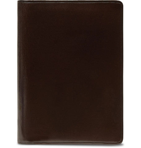Il Bussetto Polished-Leather Bifold Cardholder