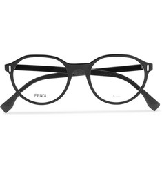 Fendi Round-Frame Acetate Optical Glasses