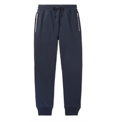 Dries Van Noten Slim-Fit Tapered Loopback Cotton-Jersey Sweatpants