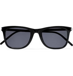 Saint Laurent Square-Frame Acetate Sunglasses