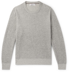 Brunello Cucinelli Ribbed Mélange Cashmere Sweater