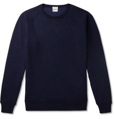 Aspesi Cotton, Cashmere and Wool-Blend Jersey Sweater