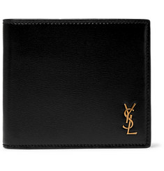 Saint Laurent Logo-Embellished Leather Billfold Wallet