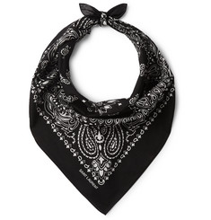 Saint Laurent Printed Cotton Bandana