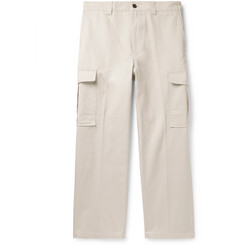 Acne Studios Pellegrin Cotton-Canvas Cargo Trousers
