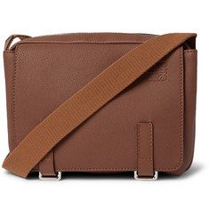 Loewe Military Full-Grain Leather Messenger Bag