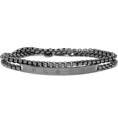 TATEOSSIAN Rhodium-Plated Bracelet
