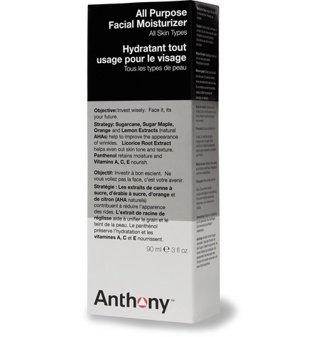 Anthony All Purpose Facial Moisturizer, 90ml In Colorless