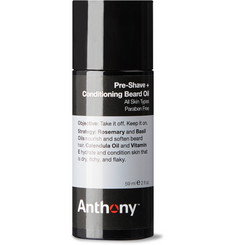 Anthony Pre-Shave + Conditioning Beard Oil, 59ml