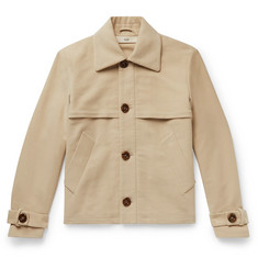 Séfr Levi Layered Brushed Cotton-Twill Jacket
