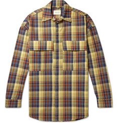 Fear of God Oversized Checked Cotton-Twill PrimaLoft Shirt Jacket