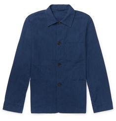 Officine Generale Cotton-Blend Seersucker Chore Jacket