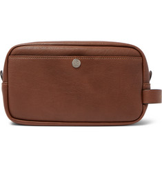 Brunello Cucinelli Leather Wash Bag