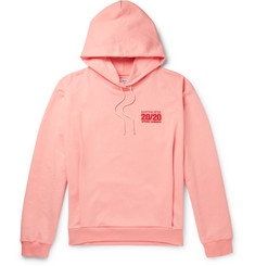 Martine Rose Logo-Embroidered Loopback Cotton-Jersey Hoodie