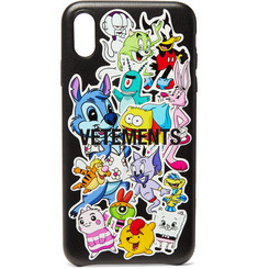 Vetements + Reebok Printed iPhone XS Max Case