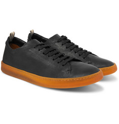 Officine Creative Karma Full-Grain Leather Sneakers