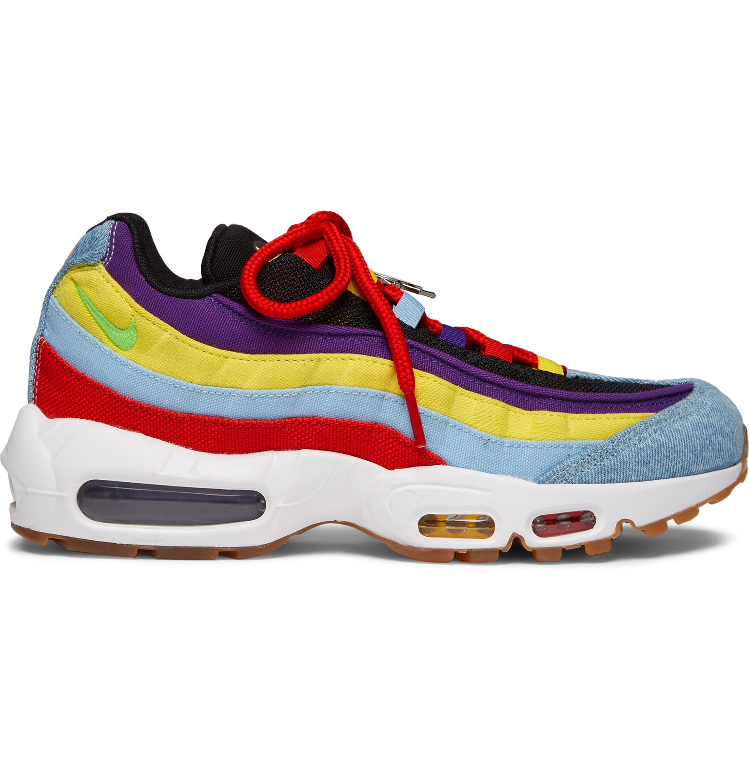 new collection famous brand best deals on Nike - Air Max 95 SP Denim, Canvas and Mesh Sneakers