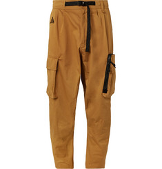 Nike ACG Tapered Cotton-Blend Twill Cargo Trousers