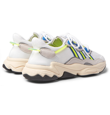 Ozweego Suede and Mesh Sneakers