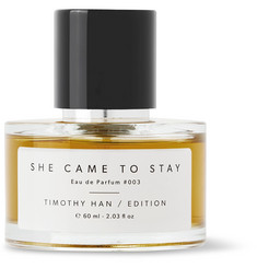 TIMOTHY HAN / EDITION She Came to Stay Eau de Parfum, 60ml