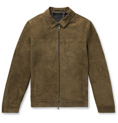 Theory Rosco Suede Jacket