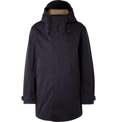 Ten C Microfibre Hooded Fishtail Parka