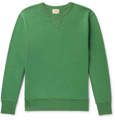 Bellerose Fleece-Back Cotton-Jersey Sweatshirt
