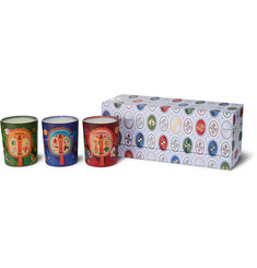 Diptyque Lucky Charms Scented Candle Set, 3 x 70g