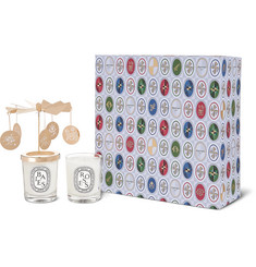 Diptyque Roses and Baies Carousel Set, 2 x 70g
