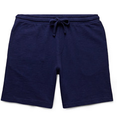Hartford Loopback Cotton-Jersey Drawstring Shorts