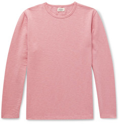 Hartford Slub Loopback Cotton-Jersey Sweatshirt
