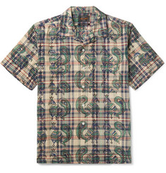 Beams Plus Paisley Cotton-Poplin Shirt