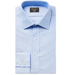 Emma Willis Light-Blue Slim-Fit Cotton Oxford Shirt