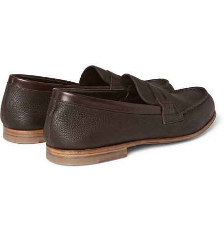 J.m. Weston Shoes 281 LE MOC GRAINED
