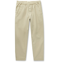 Folk Assembly Tapered Cotton-Canvas Trousers
