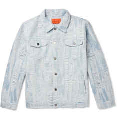 EV BRAVADO Distressed Denim Jacket