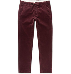 MAN 1924 Tomi Tapered Cotton-Corduroy Drawstring Trousers
