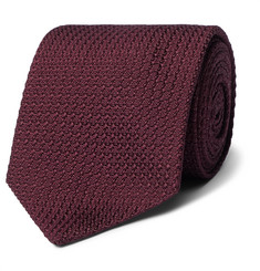 MAN 1924 8cm Knitted Silk Tie