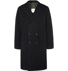 MAN 1924 Double-Breasted Brushed-Cotton Coat