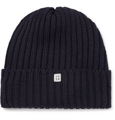 MAN 1924 Ribbed Wool Beanie