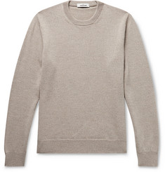 Mélange Merino Wool Sweater by Saman Amel