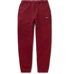 Nike NRG Tapered Fleece-Back Cotton-Blend Sweatpants