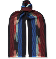 Missoni Striped Knitted Scarf