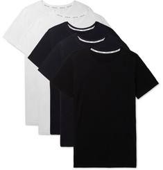 Hamilton and Hare Five-Pack Slim-Fit Cotton-Jersey T-Shirts
