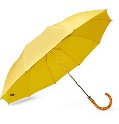 London Undercover Bamboo-Handle Umbrella