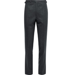 Husbands Slim-Fit Wool-Flannel Trousers