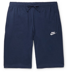 Nike Sportswear Club Slim-Fit Cotton-Jersey Drawstring Shorts
