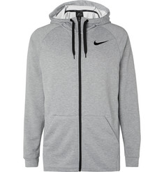 Nike Training Mélange Loopback Dri-FIT Zip-Up Hoodie