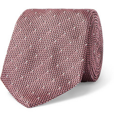 Richard James 7cm Polka-Dot Silk-Jacquard Tie